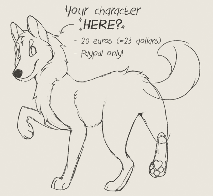 YCH! - sold by Detrah