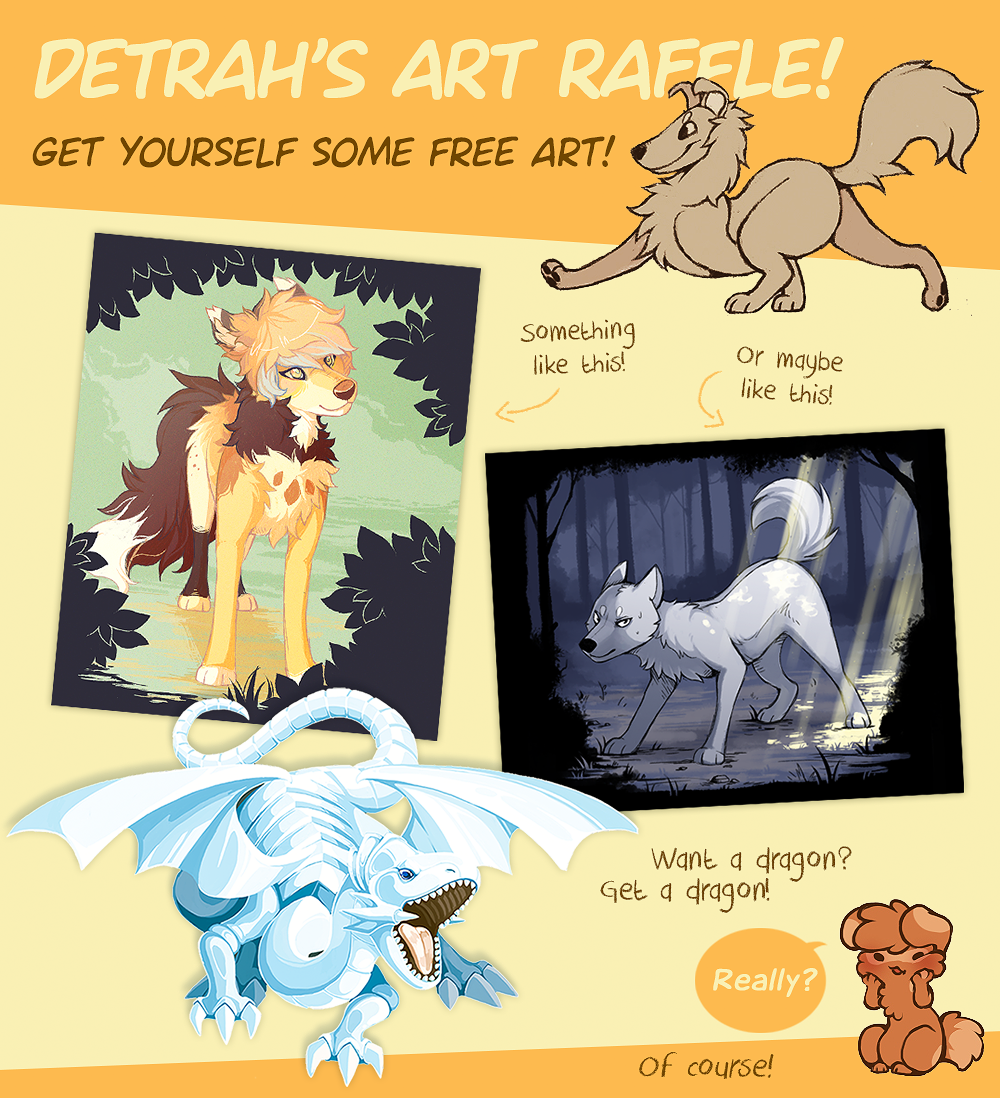 Get that free art! (..but on tumblr) by Detrah