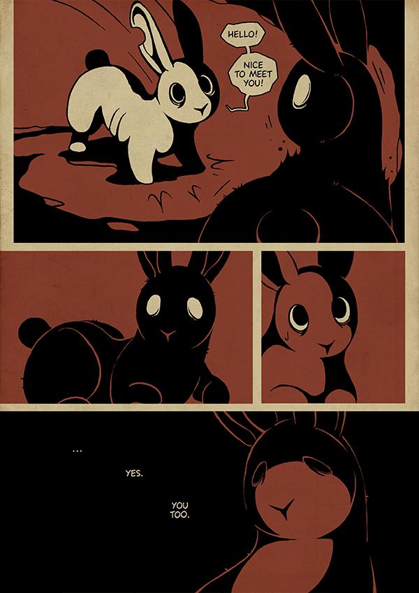Rabbit Hole - 84 by Detrah