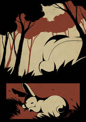 Rabbit Hole - 86 by Detrah