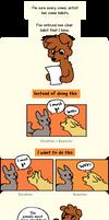 Comic drawing habits
