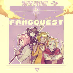 Concept art for a 2days RPG : FANGQUEST
