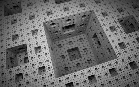 Menger Sponge by OlisStudios