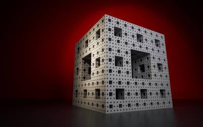 Menger Cube by OlisStudios