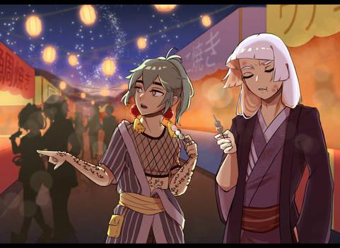 [OC] Festival Shenanigans