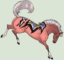 N1612 Cinderella [Dagny Stallion] by Plants-And-Tattoos