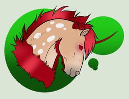 N3580 Rose Quartz [Deer Flowpow Phabis Mare] by Plants-And-Tattoos