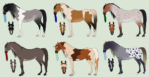 OTA Stallion Adopts #2 [CLOSED] by Plants-And-Tattoos