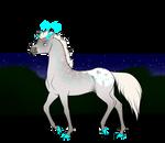 N6614 Glacier [natural stallion]
