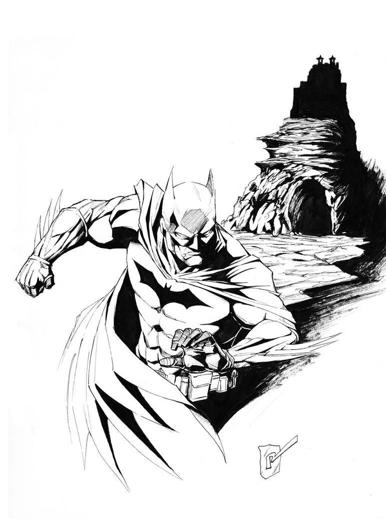 Batman by randomacroblack
