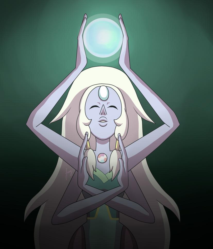 Opal - Steven Universe by amyrose7 on DeviantArt