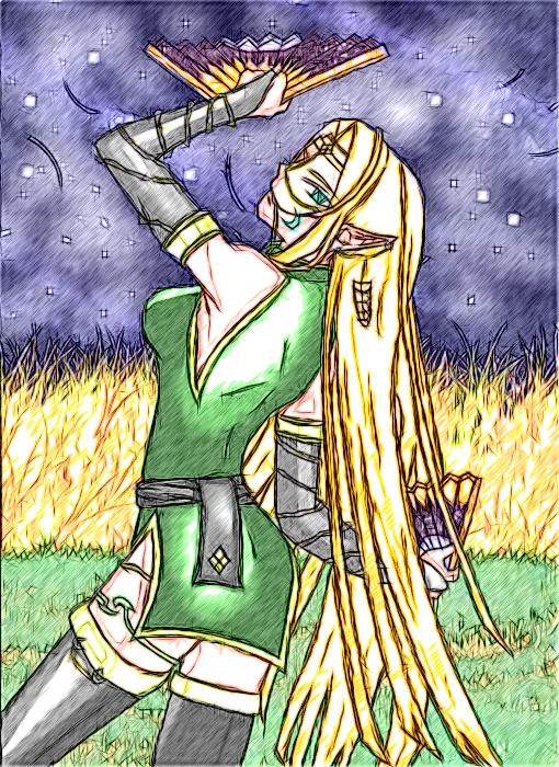 Priestess of the Harvest by Krescentwolf