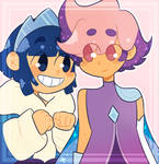 Frosta and Glimmer