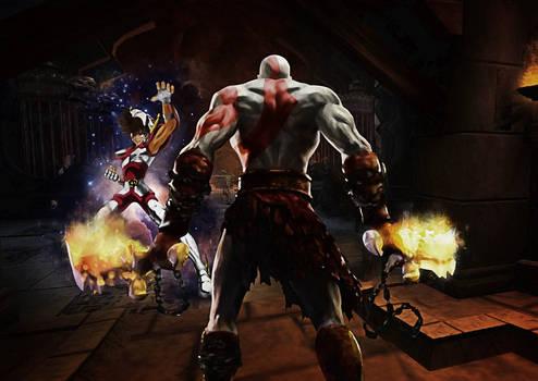 kratos vs seiya