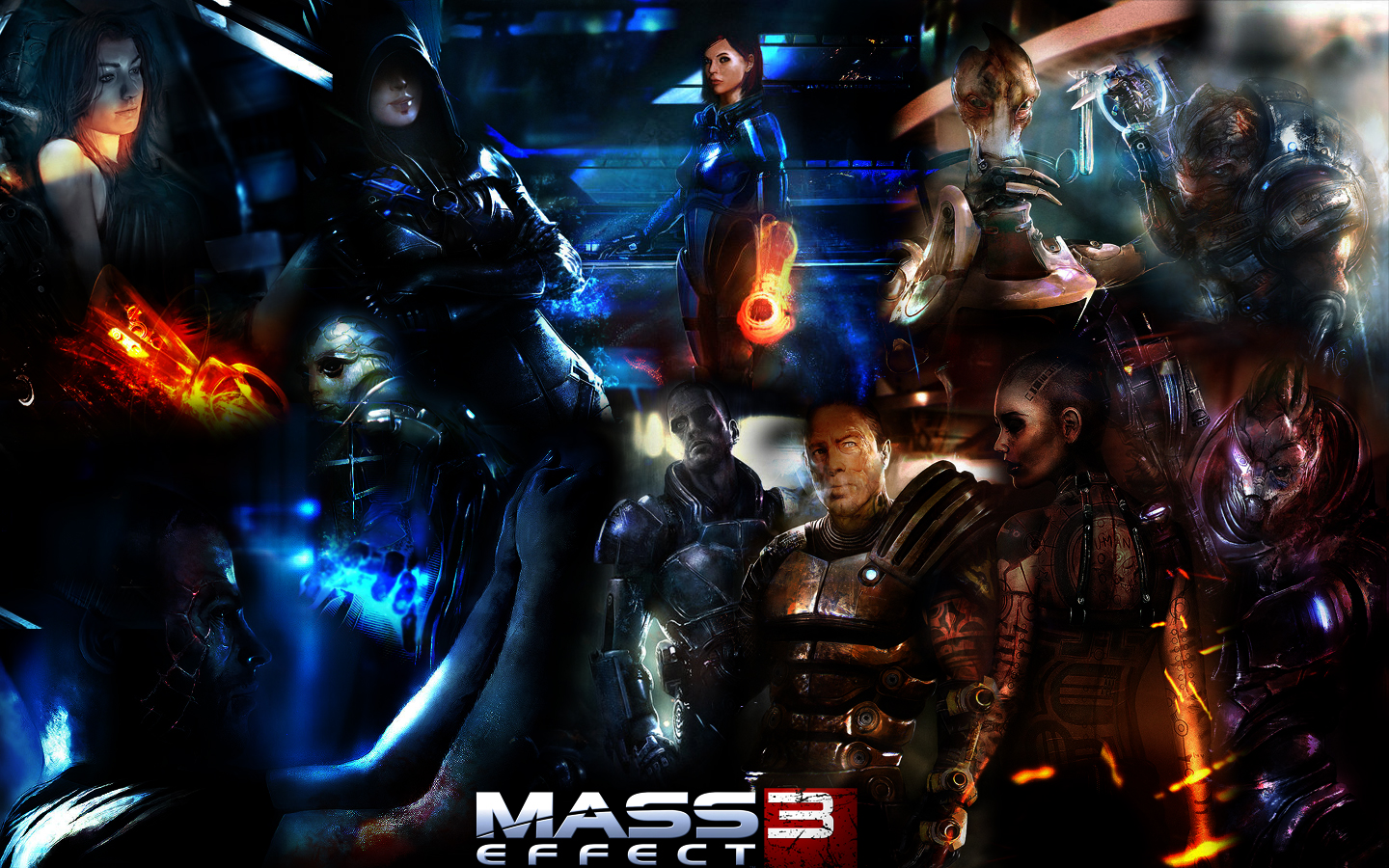 Mass Effect 3 Wallpaper By Trolldrill On Deviantart