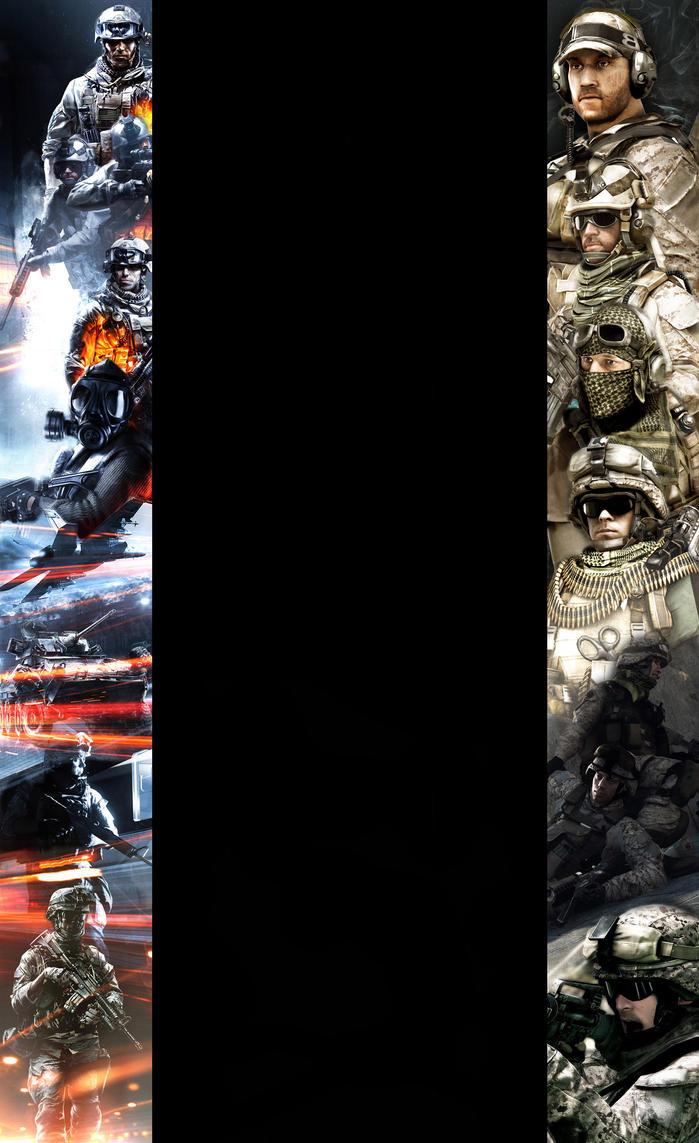 Battlefield 3 Background by TrollDrill