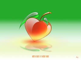 Heart fruit by neelava