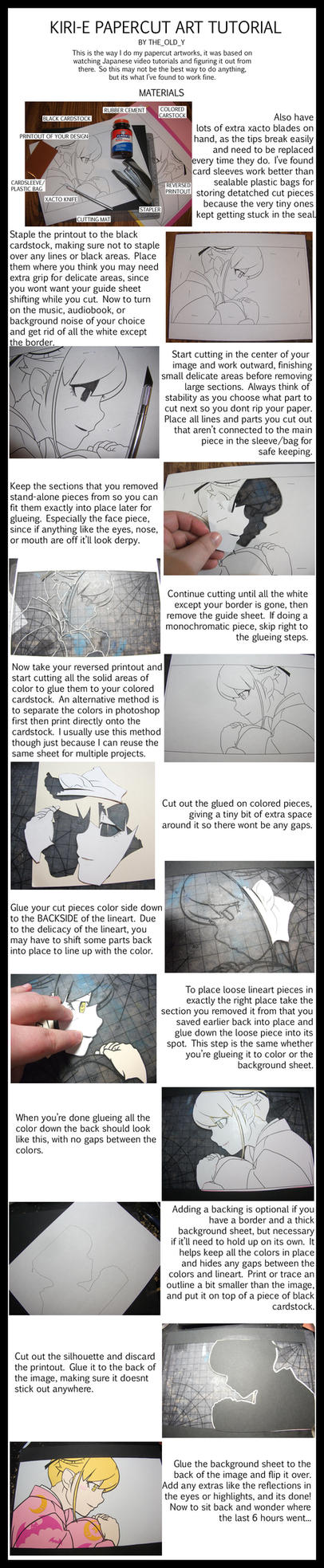 Kirie Papercutting Tutorial by The-Old-Y