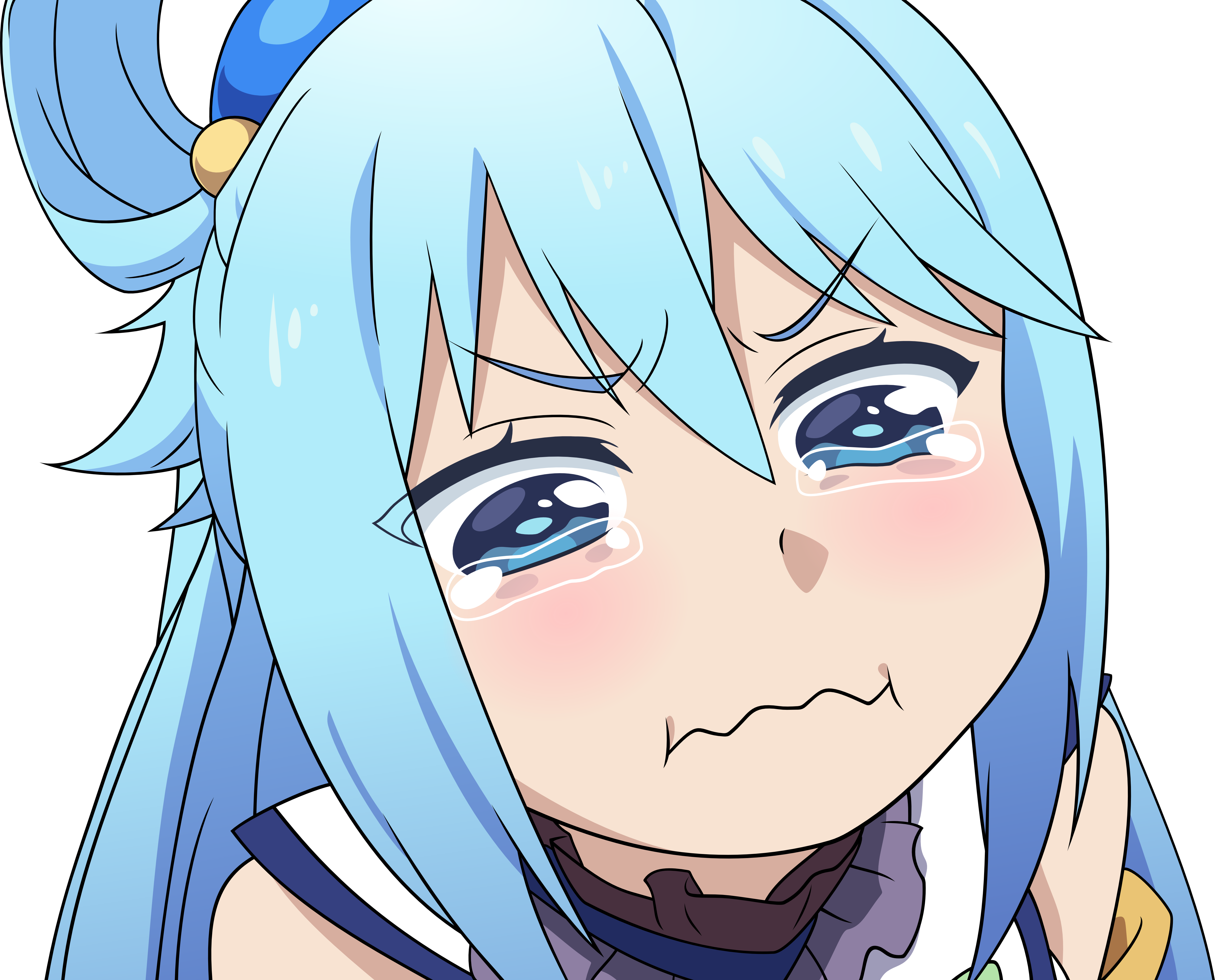 Vector: Crying Aqua