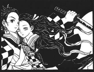 Papercut: Kimetsu no Yaiba by The-Old-Y