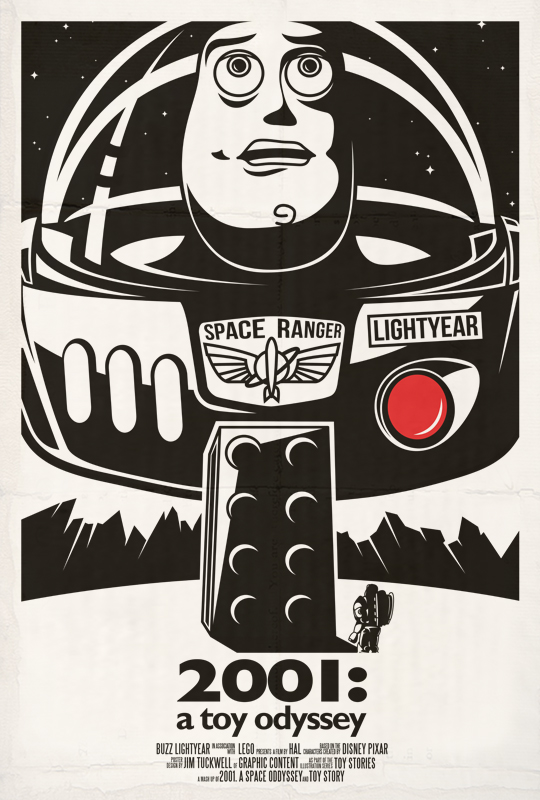 2001: a space oddessey by GraphicContentDesign