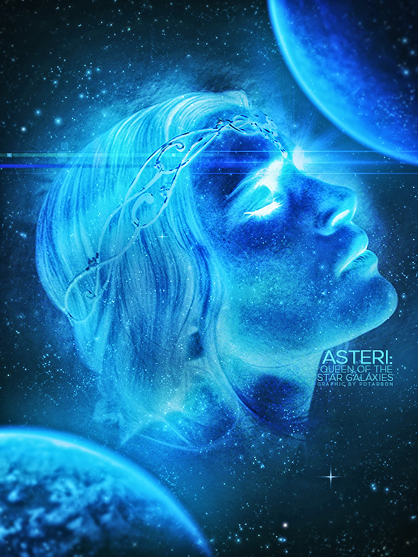 Asteri: Queen of the Star Galaxies by bluemoans
