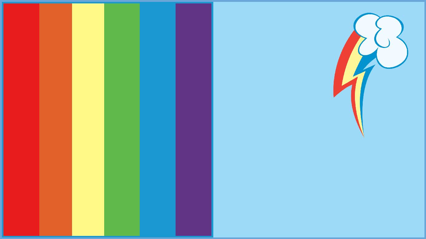 Rainbow Flag Png Rainbow Dash Flag
