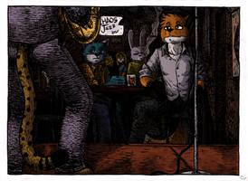 Chaos jazz bar by fecama