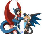 Pokemon Dragon Girls by Fallere825