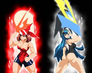 May and Dawn Battle Aura