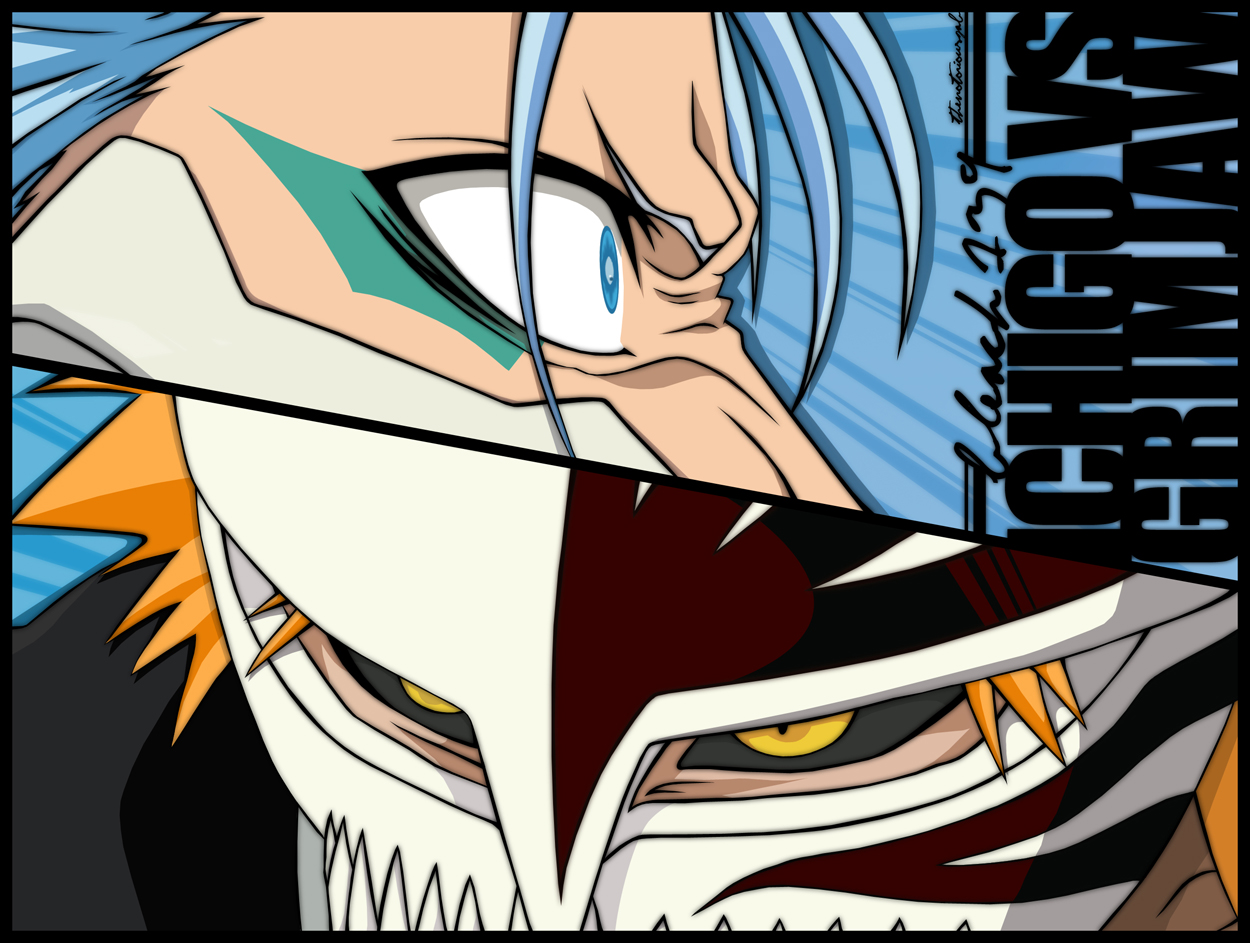 Bleach139-IchigoVsGrimjaw by TheNotoriousGAB