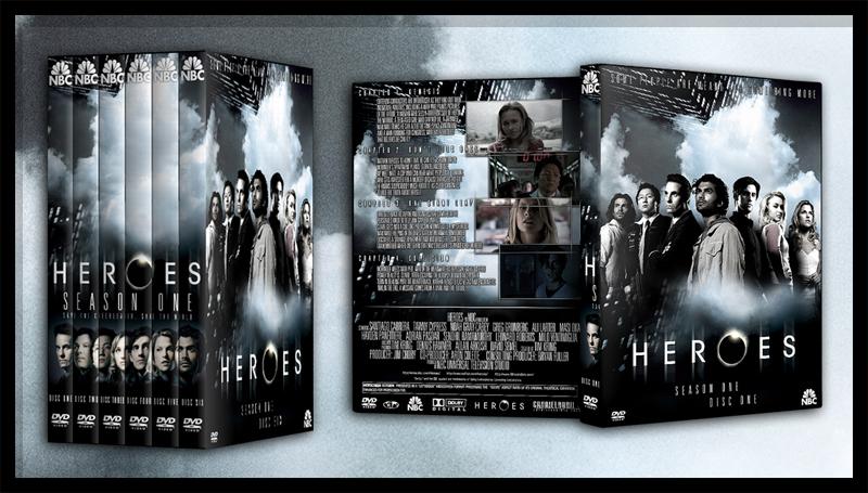 Heroes Season One by TheNotoriousGAB