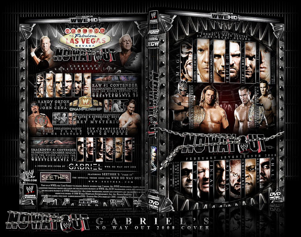 Wwe No Way Out 2008 Custom By Thenotoriousgab On Deviantart