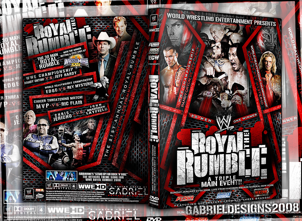 WWE Royal Rumble 08 Custom by TheNotoriousGAB