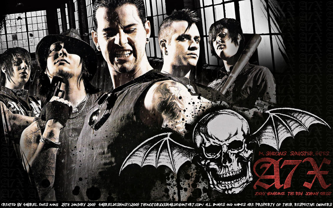 A7X Wallpaper By TheNotoriousGAB