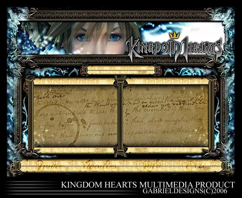 Kingdom Hearts by TheNotoriousGAB