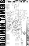 Digimon Tamers Art Complete