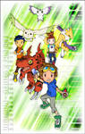 Digimon Tamers Fan Art