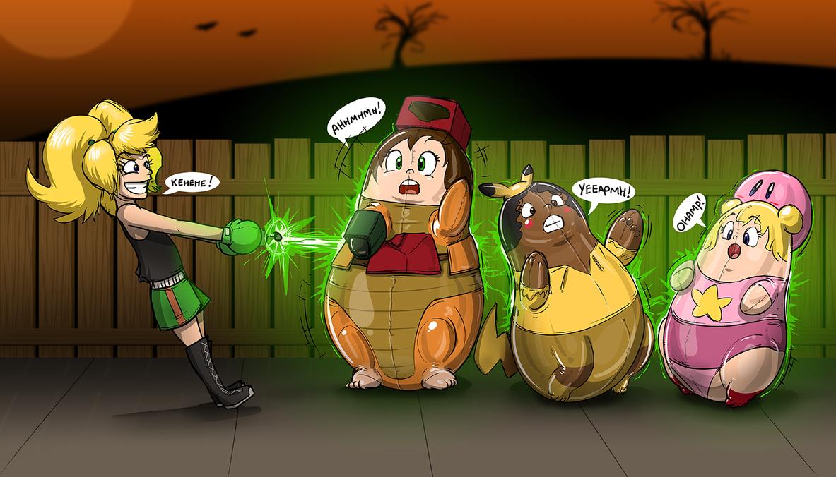 Trumangrace Halloween Surprise Part 2 by Redflare500