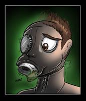 Gasmasked by Redflare500
