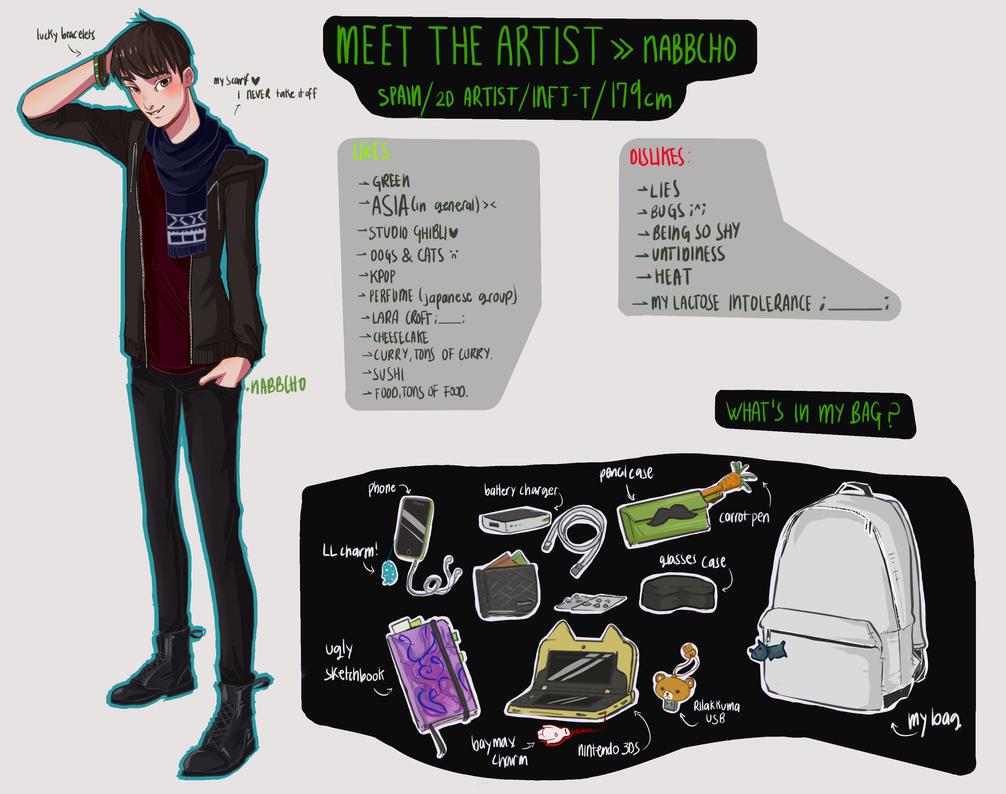 Meet the artist #2017 by Nabbcho
