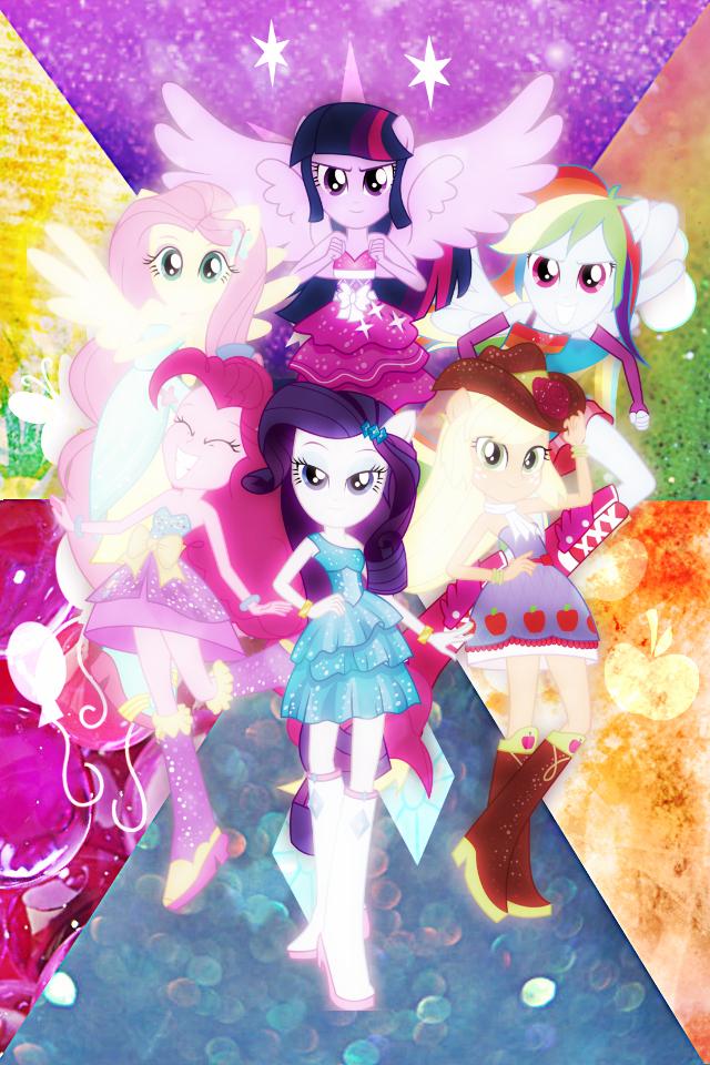 Equestria Girls! by xRandomGurl