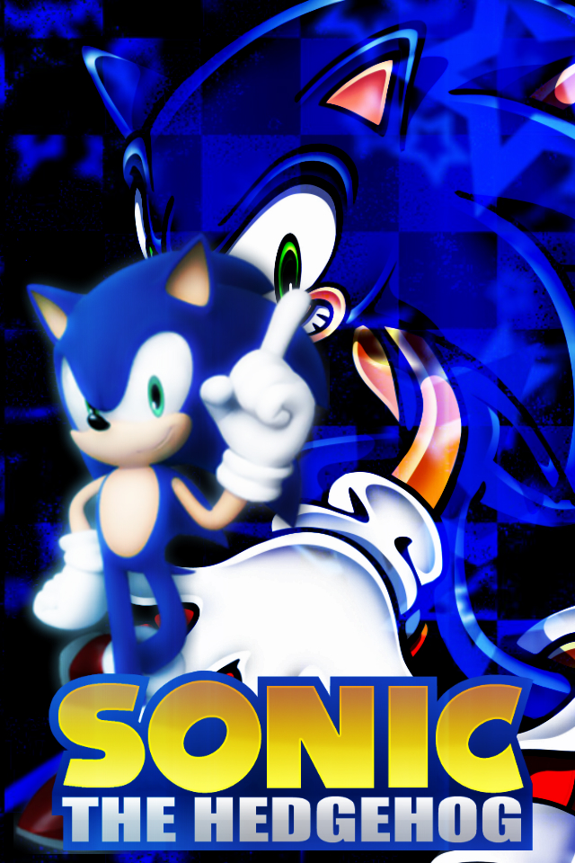 Sonic The Hedgehog IPod Wallpaper By XRandomGurl
