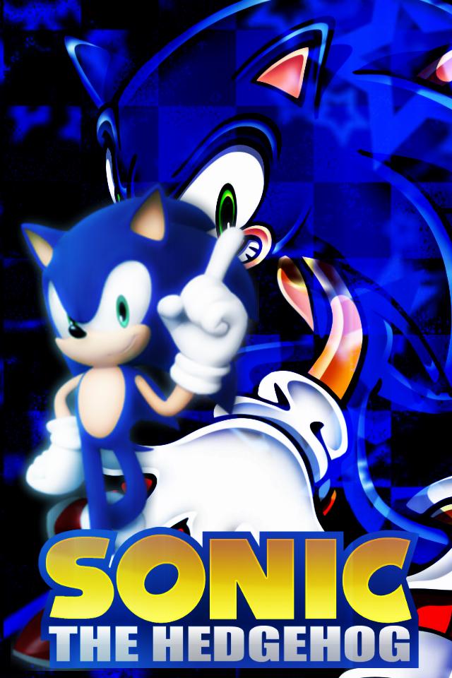 Sonic The Hedgehog IPod Wallpaper By XRandomGurl