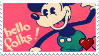 Mickey Mouse Stamp 2! by xRandomGurl