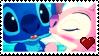 Stitch X Angel Stamp! by xRandomGurl