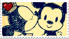 Mickey Mouse X Minnie Mouse Stamp! by xRandomGurl