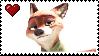 Nick Wilde Stamp 2! by xRandomGurl