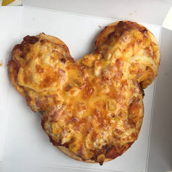 Mickey Mouse Pizza!