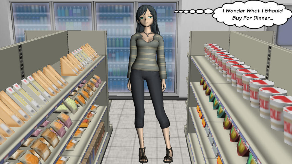 Convenience Store - Test 1 by takeshimiranda